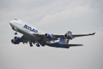kumagorouさんが、仙台空港で撮影したアトラス航空 747-446の航空フォト(飛行機 写真・画像)
