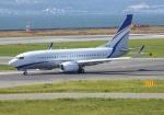 ふうちゃんさんが、関西国際空港で撮影した現代自動車 737-7GE(BBJ)の航空フォト(写真)