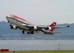 Crosswindさんが、関西国際空港で撮影したノースウエスト航空 747-451の航空フォト(写真)