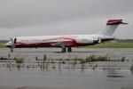 北の熊さんが、新千歳空港で撮影したサンライダー MD-87 (DC-9-87)の航空フォト(写真)