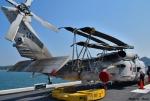 れんしさんが、護衛艦 ひゅうが DDH-181で撮影した海上自衛隊 SH-60Kの航空フォト(写真)