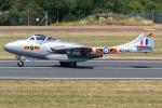 Tomo-Papaさんが、フェアフォード空軍基地で撮影したノルウェー企業所有 DH.115 Vampire T55の航空フォト(写真)