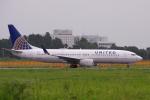 yabyanさんが、成田国際空港で撮影したユナイテッド航空 737-824の航空フォト(飛行機 写真・画像)
