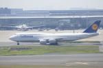 KKiSMさんが、羽田空港で撮影したルフトハンザドイツ航空 747-830の航空フォト(写真)