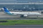 Dojalanaさんが、羽田空港で撮影したガルーダ・インドネシア航空 A330-343Xの航空フォト(飛行機 写真・画像)