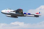 Tomo-Papaさんが、フェアフォード空軍基地で撮影したノルウェー企業所有 DH.100 Vampire FB5の航空フォト(写真)