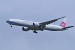 yabyanさんが、成田国際空港で撮影したチャイナエアライン 777-309/ERの航空フォト(飛行機 写真・画像)