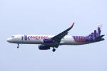 yabyanさんが、成田国際空港で撮影した香港エクスプレス A321-231の航空フォト(飛行機 写真・画像)