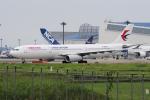 yabyanさんが、成田国際空港で撮影した中国東方航空 A330-343Xの航空フォト(飛行機 写真・画像)