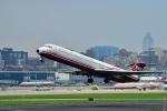 アップルゆこさんが、台北松山空港で撮影した遠東航空 MD-82 (DC-9-82)の航空フォト(写真)