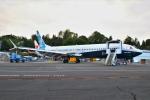 masa707さんが、レントン市営空港で撮影したボーイング 737-9-MAXの航空フォト(写真)