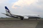 スポット110さんが、羽田空港で撮影した現代自動車 737-75G BBJの航空フォト(写真)