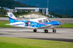 きゅうさんが、南紀白浜空港で撮影した日本法人所有 PA-28-140 Cherokeeの航空フォト(写真)
