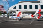 きゅうさんが、鈴鹿サーキットで撮影した中日本航空 EC135P2の航空フォト(写真)