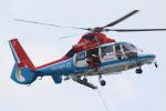 せぷてんばーさんが、東扇島東公園で撮影した川崎市消防航空隊 AS365N3 Dauphin 2の航空フォト(写真)