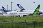 yabyanさんが、成田国際空港で撮影した春秋航空日本 737-81Dの航空フォト(写真)