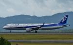 鉄バスさんが、広島空港で撮影した全日空 A321-211の航空フォト(写真)