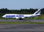 bluesky05さんが、成田国際空港で撮影したウエスタン・グローバル・エアラインズ 747-446(BCF)の航空フォト(写真)