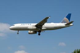xingyeさんが、ロナルド・レーガン・ワシントン・ナショナル空港で撮影したユナイテッド航空 A320-232の航空フォト(飛行機 写真・画像)