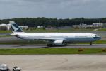 TUILANYAKSUさんが、成田国際空港で撮影したキャセイパシフィック航空 A330-343Xの航空フォト(写真)