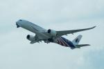 FRTさんが、関西国際空港で撮影したマレーシア航空 A350-941XWBの航空フォト(飛行機 写真・画像)