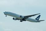 FRTさんが、関西国際空港で撮影したキャセイパシフィック航空 777-367の航空フォト(写真)