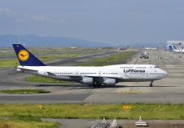 航空フォト:D-ABVR ルフトハンザドイツ航空 747-400