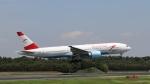 raichanさんが、成田国際空港で撮影したオーストリア航空 777-2Z9/ERの航空フォト(写真)
