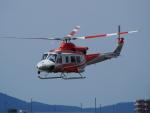 ここはどこ?さんが、札幌飛行場で撮影した北海道防災航空隊 412EPの航空フォト(写真)