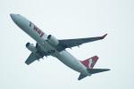 FRTさんが、関西国際空港で撮影したティーウェイ航空 737-8ASの航空フォト(飛行機 写真・画像)