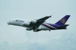 FRTさんが、関西国際空港で撮影したタイ国際航空 A380-841の航空フォト(飛行機 写真・画像)
