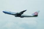 FRTさんが、関西国際空港で撮影したチャイナエアライン 747-409F/SCDの航空フォト(飛行機 写真・画像)