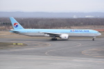 kumagorouさんが、新千歳空港で撮影した大韓航空 777-3B5/ERの航空フォト(写真)
