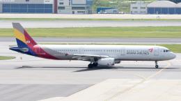 航空フォト:HL7594 アシアナ航空 A321