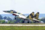 ちゃぽんさんが、ジュコーフスキー空港で撮影したロシア空軍 Su-35の航空フォト(飛行機 写真・画像)