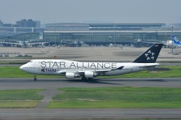 Dojalanaさんが、羽田空港で撮影したタイ国際航空 747-4D7の航空フォト(写真)