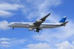 takapiroさんが、ロンドン・ヒースロー空港で撮影したクウェート航空 A340-313の航空フォト(飛行機 写真・画像)