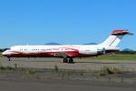 セブンさんが、新千歳空港で撮影したサンライダー MD-87 (DC-9-87)の航空フォト(飛行機 写真・画像)