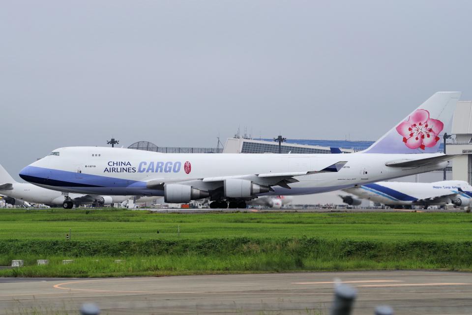 yabyanさんのチャイナエアライン Boeing 747-400 (B-18719) 航空フォト