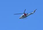 GOQさんが、鹿部飛行場で撮影した朝日航洋 412EPの航空フォト(写真)