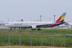 yabyanさんが、成田国際空港で撮影したアシアナ航空 A330-323Xの航空フォト(飛行機 写真・画像)