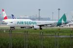 yabyanさんが、成田国際空港で撮影したエアソウル A321-231の航空フォト(写真)