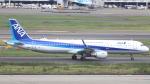 誘喜さんが、羽田空港で撮影した全日空 A321-211の航空フォト(写真)