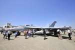 Orange linerさんが、厚木飛行場で撮影したアメリカ海軍 EA-18G Growlerの航空フォト(写真)