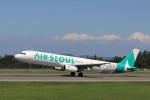 musashiさんが、高松空港で撮影したエアソウル A321-231の航空フォト(写真)