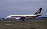 kumagorouさんが、仙台空港で撮影したシンガポール航空 A310-324の航空フォト(飛行機 写真・画像)