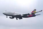 yabyanさんが、成田国際空港で撮影したアシアナ航空 747-48EF/SCDの航空フォト(飛行機 写真・画像)
