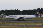 わいどあさんが、成田国際空港で撮影したルフトハンザ・カーゴ 777-FBTの航空フォト(写真)