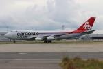 青春の1ページさんが、関西国際空港で撮影したカーゴルクス・イタリア 747-4R7F/SCDの航空フォト(写真)