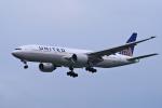 yabyanさんが、成田国際空港で撮影したユナイテッド航空 777-222/ERの航空フォト(飛行機 写真・画像)